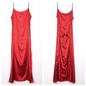 Thai Silk made in Thailand spaghetti strap dress